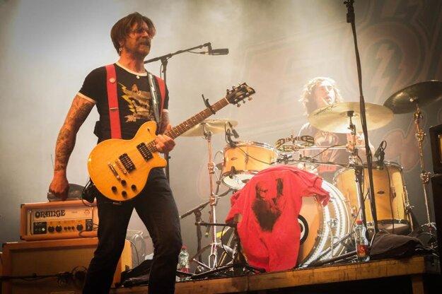 Na koncerte chýbal zakladateľ kapely Josh Homme.