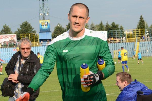 Suverénna brankárska jednotka FC Košice Gejza Pulen.
