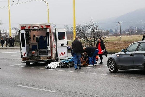 Auto zrazilo dvoch chlapcov.