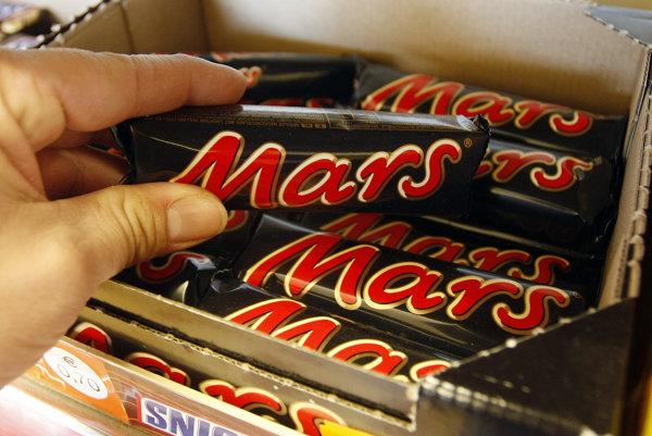 Mars sa rozhodol dobrovoľne stiahnuť cukrovinky z predaja.