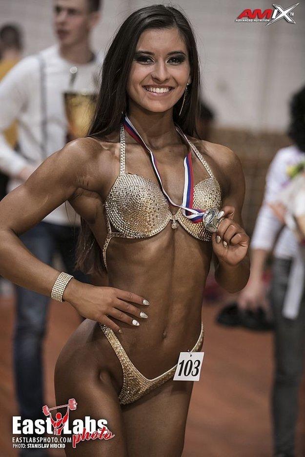 Sára Adamčíková našla v body fitnes, čo hľadala.