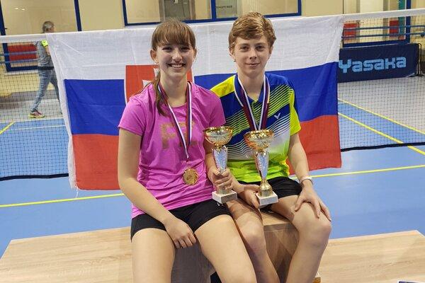 Majstrovský pár Tamara Mrázová - Simeon Suchý.