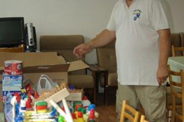 Pomoc Prušťanov pre obyvateľov zaplavených obcí.