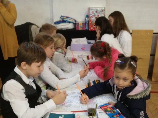 Deti si mohli vyskúšať rôzne aktivity.