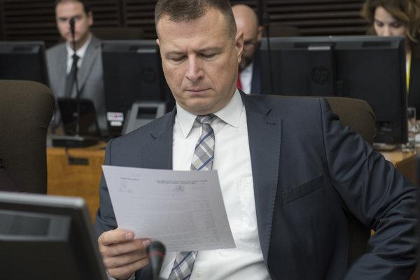 Minster spravodlivosti SR Gábor Gál.