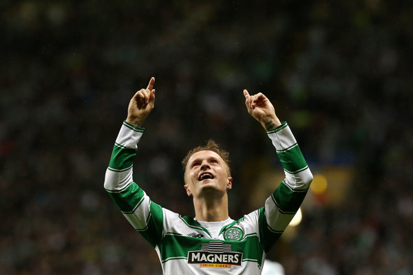 Hráč Celticu Glasgow Leigh Griffiths.