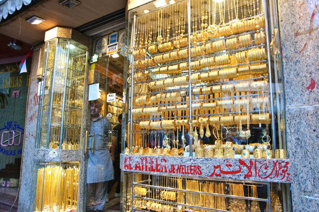 Gold Souk, Dubaj.