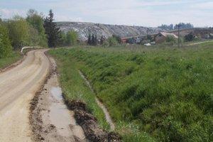 Skládka na odpad z obcí a papierní by sa mala zaplniť o 40 rokov.