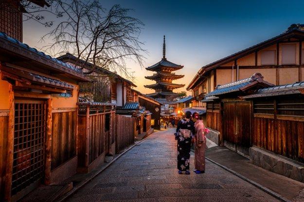 Gejše v Kyote