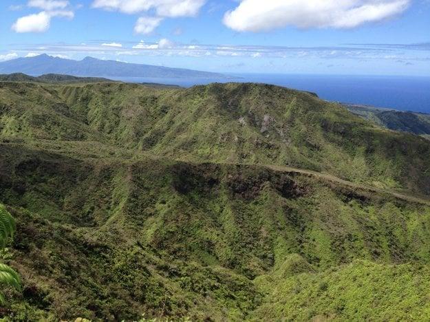 Typický charakter havajskej prírody na ostrove Maui