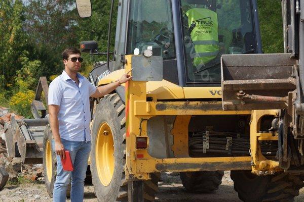 Karaffa podal podnet stavebnému úradu ešte ako aktivista, odpoveď mu prišla už ako mestskému poslancovi.