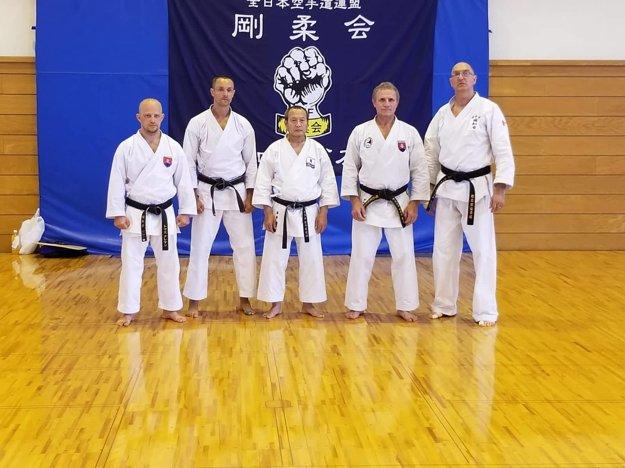 Tomáš Kleman (vľavo) bol v Japonsku.