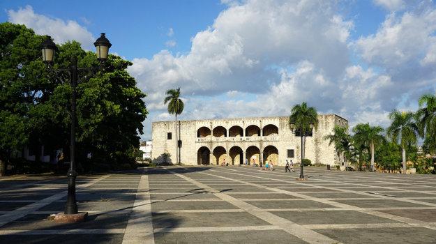 Palác Alcázar de Colón v Santo Domingo.