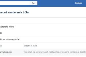 Deaktiváciu účtu na facebooku nájdete na karte Všeobecné a položke Spravovanie účtu. Po kliknutí na deaktiváciu postupujte podľa inštrukcií facebooku, ktorý sa vás bude snažiť na sieti udržať pomocou fotiek priateľov.
