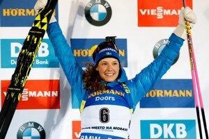 Švédka Hanna Oebergová.