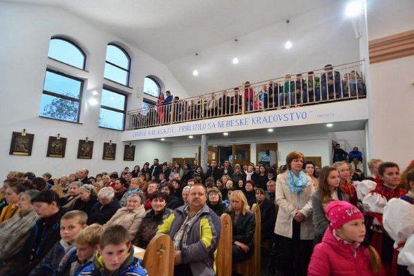 Nový priestor obohatil kostol aj o chór a spovednú miestnosť.