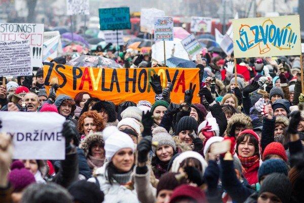 Ružomberskí učitelia sa stretnú v stredu 3. februára pri vajci o 15. 30 h.