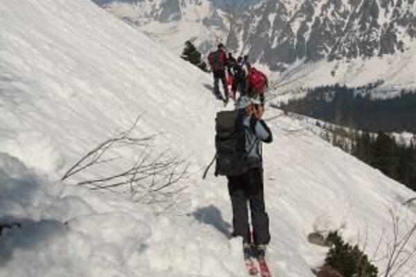 Dve trasy v Žiarskej doline môžu skialpinisti využívať až do 15. mája budúceho roka.
