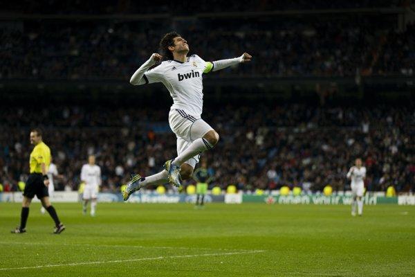Brazílsky futbalista Kaká.