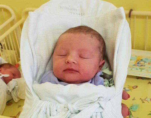 Malá Tamarka Michňová sa narodila 1. januára 2019.