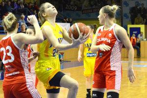Košické basketbalistky nestačili v európskej súťaži na tím z Bieloruska.