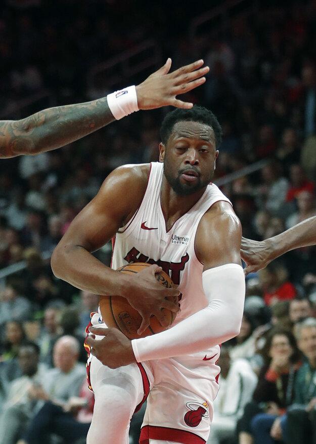 Dwyane Wade nastrieľal v NBA už 500 trojok.