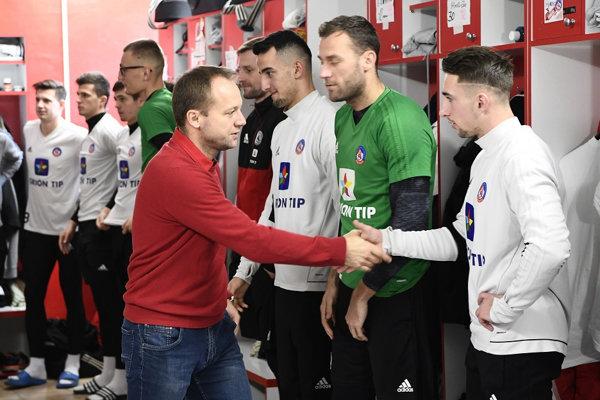Futbalisti AS Trenčín začali zimnú prípravu.