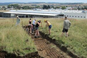 Archeologické vykopávky v Šahách.
