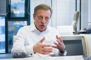 Odchádzajúci generálny riaditeľ Orange Slovensko Pavol Lančarič.