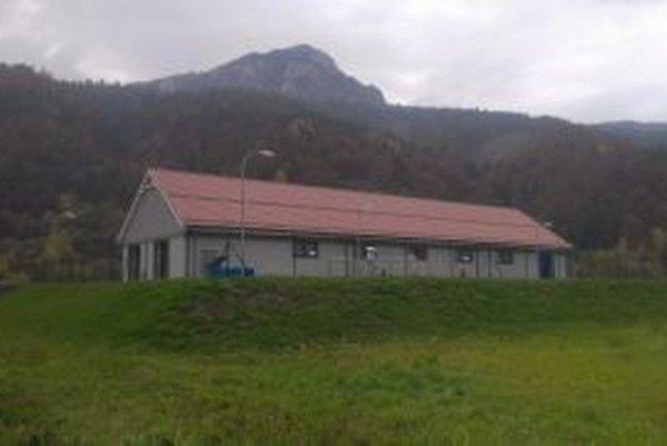 Budova čistiarne odpadových vôd v Stankovanoch.