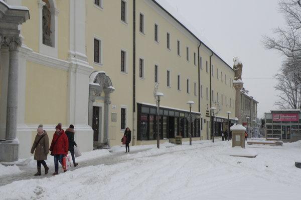 Sneh v Prievidzi.