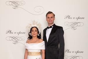 Kristína Kövešová  a Marek Kravjar