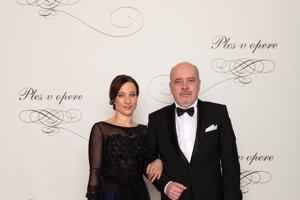 Matej Landl, herec s manželkou Janou Landlovou