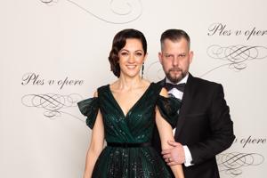 Pepe Majeský, režisér s manželkou Silviou Majeskou