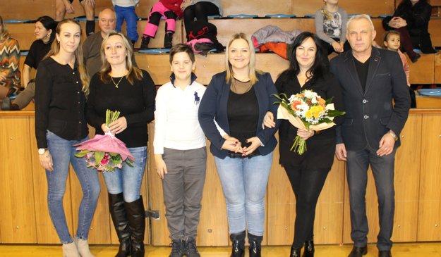 Rodina rozhodcov Petra Kubinu a Mariána Šmidoviča
