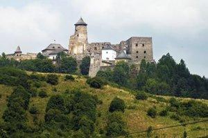 Hrad v Starej Ľubovni.