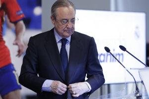 Pérez hrozí odchodom z funkcie prezidenta Realu Madrid.