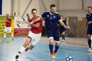 V akcii bolo osem mužstiev. Snímka je zo štvrťfinále Pata - Rumanová (0:1).