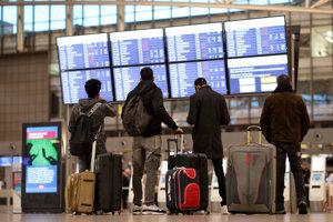 Štrajk ochromil aj letisko v Hamburgu.