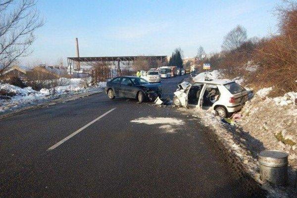 Nehoda sa stala 7. decembra 2017 na Lieskovskej ceste vo Zvolene.