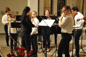 Deti si zahrali na rovnakom pódiu ako virtuóz Peter Michalica.