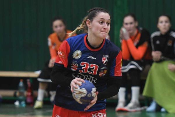Lívia Klučková si po ôsmich rokoch znovu zahrala na poste strednej spojky.