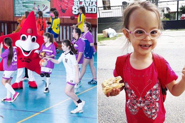 Výťažok z hádzanárskeho podujatia pomôže štvorročnej Betke Kižnanskej.