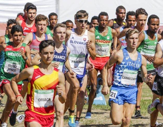 Atlét Andrej Paulíny sa predsatvil aj na III. olympijských hrách mládeže vBuenos Aires.