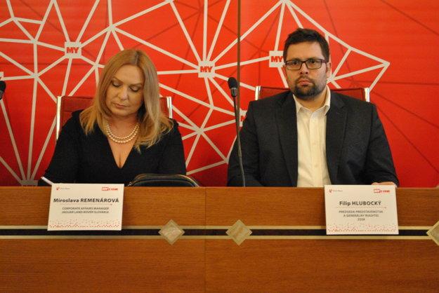 Miroslava Remenárová a Filip Hlubocký.