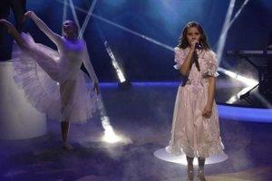 Lenka Berkešová vystúpila aj v známej televíznej relácii Chart show.