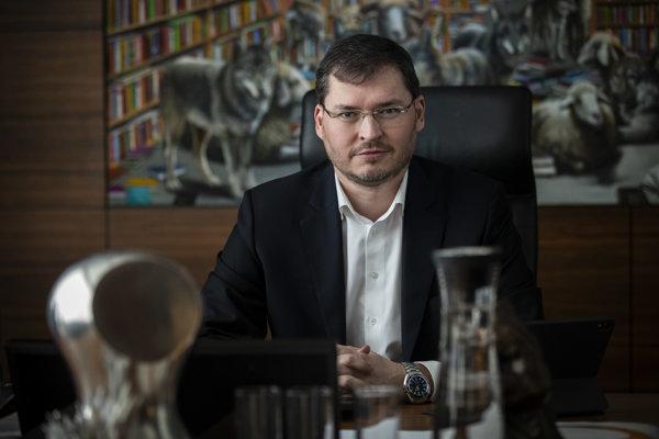 Riaditeľ Poštovej banky Andrej Zaťko.