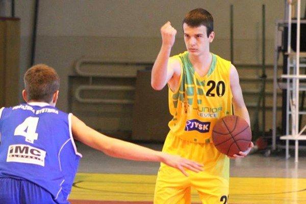 Martin Danielič sa vdrese Levických Patriotov predstavil vAlpsko – jadranskom pohári.