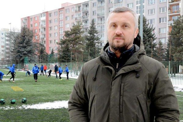 Nový majiteľ Lokomotívy Košice Jurij Dovhanyč.