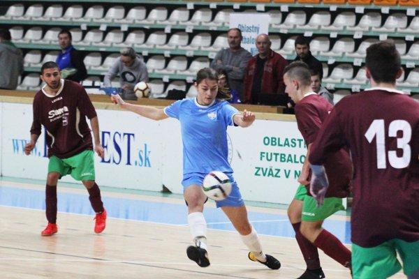 Medzi chlapcami sa nestratili ani dievčatá z FC Nitra, ktoré dosiahli dve remízy.